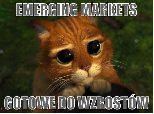 Emerging Markets gotowe do wzrostów.